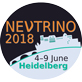 Neutrino 2018 in Heidelberg