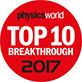 """Physics World Top Ten Breakthrough of 2017"""